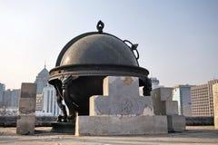 Astronomisches Instrument alten Observatoriums Chinas Peking Stockfotografie