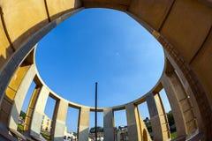 Astronomisches Instrument an Jantar Mantar-Observatorium Lizenzfreie Stockfotografie