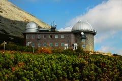 Astronomisches Observatorium Slowakei Stockbild