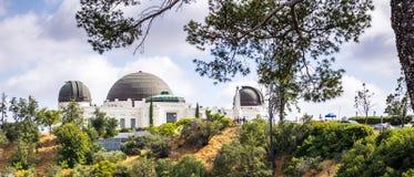 Astronomisches Observatorium und Griffith Park Touristenattraktion des DLOS von Angeles, CA lizenzfreie stockfotografie