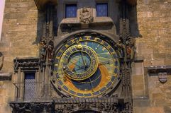 astronomisk klocka Arkivfoton