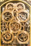 Astronomisk klocka för Strasbourg domkyrka Royaltyfria Foton