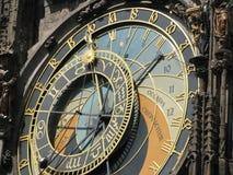 Astronomisk klocka Prague Fotografering för Bildbyråer