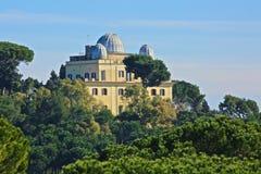 Astronomisk observatorium av Rome Royaltyfri Fotografi