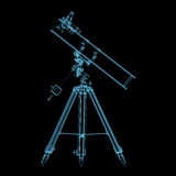 Astronomiskt teleskop Royaltyfria Bilder