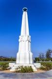 Astronomowie pomnikowi przy Griffith obserwatorium w Los Angeles Obraz Stock