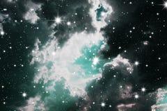 Astronomy. Nebula detail taken through telescope Stock Images