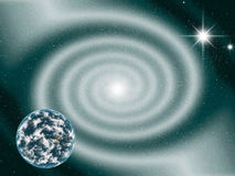 Astronomy. Space and astronomy. A congestion of stars Royalty Free Stock Image