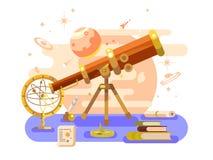 Astronomy design retro Stock Image
