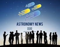 Astronomy News Exploration Nebular Concept Royalty Free Stock Image