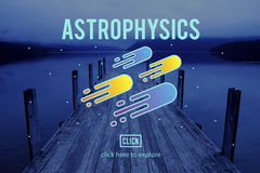 Astronomy News Exploration Nebular Concept Stock Image