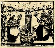 Astronoom 2 Stock Afbeeldingen