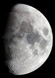 astrophotographie月亮 免版税库存图片