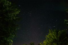 Astrophotography at Home stock photography