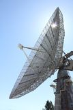 Astrophysical Observatory 26 Meter Dish. The Dominion Radio Astrophysical Observatory 26 meter mesh antenna dish located near Penticton, British Columbia in the royalty free stock image