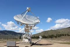 Astrophysical Observatory Dish Array Royalty Free Stock Photo