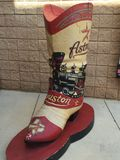 Astros monument. Astros boot at the Kissimmee stadium Stock Photos