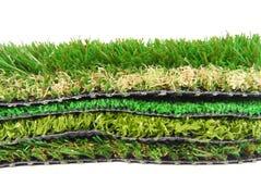 Astroturf artificial de la hierba fotografía de archivo libre de regalías