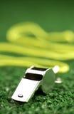 astroturfgreen som lägger visslingen Royaltyfri Fotografi