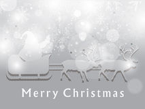Astrract christmas background with deer Royalty Free Stock Photography