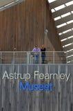 Astrup Fearnley现代艺术博物馆 免版税库存图片