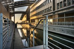 The Astrup Fearnley Museum of Modern Art Royalty Free Stock Photos