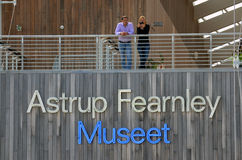 Astrup Fearnley muzeum sztuka współczesna Zdjęcia Royalty Free