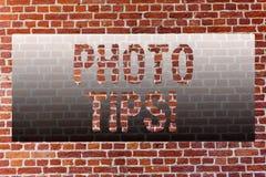 Astuces de photo des textes d'écriture de Word Concept d'affaires pour que les suggestions prennent de bons conseils d'images pou image libre de droits