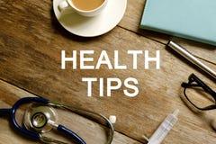 Astuces de santé photos libres de droits