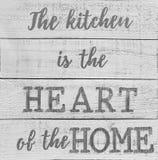 Astuces gentilles au sujet de notre cuisine Photo stock