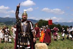 Astur-Römisches Festival CARABANZO Stockbild