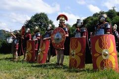 Astur-Römisches Festival CARABANZO Stockbilder