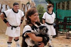 Astur-Roman Festival CARABANZO Stock Photos