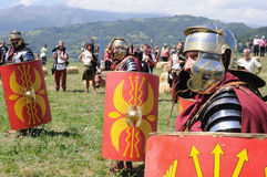 Astur-Roman Festival CARABANZO Royalty Free Stock Images
