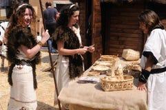 Astur-Roman Festival CARABANZO Stock Photography