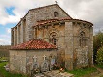 Astureses romańszczyzna kościół Zdjęcia Royalty Free