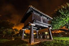 Свет в ночи стоковая фотография rf
