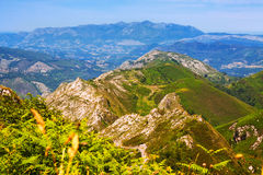 Asturian berg Arkivfoton