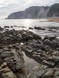 Asturian coast. Beautiful coastal area, in the north of Asturias. Spain Stock Image