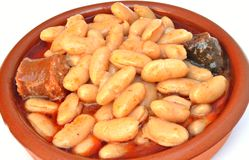 Asturian dish Stock Photography