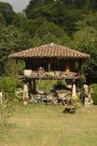 asturian granary Fotografering för Bildbyråer