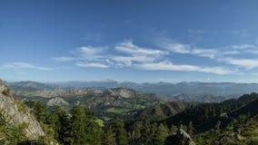 Asturian ziemie obraz royalty free