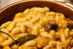 Asturiana di Fabada Immagini Stock Libere da Diritti