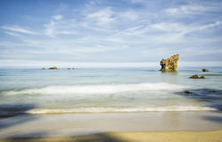 Asturias. A beach of Asturias (Spain Royalty Free Stock Photos