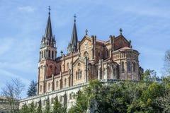 asturias covadonga fristad spain Fotografering för Bildbyråer