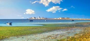 asturias Cudillero połowu Spain wioska Tunezja, afryka pólnocna Obrazy Stock