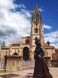 asturias katedra Oviedo Obrazy Royalty Free