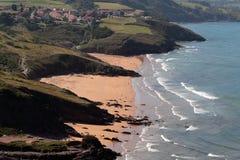 asturias kust arkivfoto