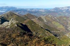 Asturias. Landscape at Picos de Europa, Asturias, Spain Royalty Free Stock Photos