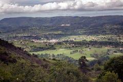 ASturias landskap Arkivbild